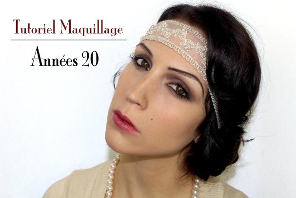 Maquillage d'Halloween : années 20
