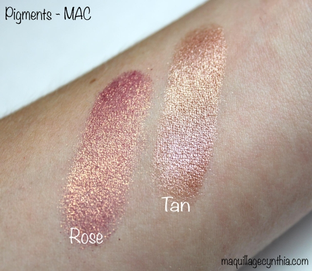 Pigment rose tan MAC