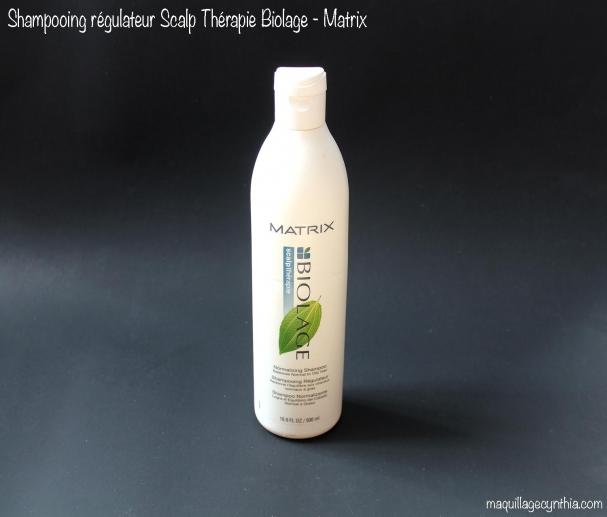 Shampooing Régulateur (cheveux normaux à gras) Biolage de Matrix
