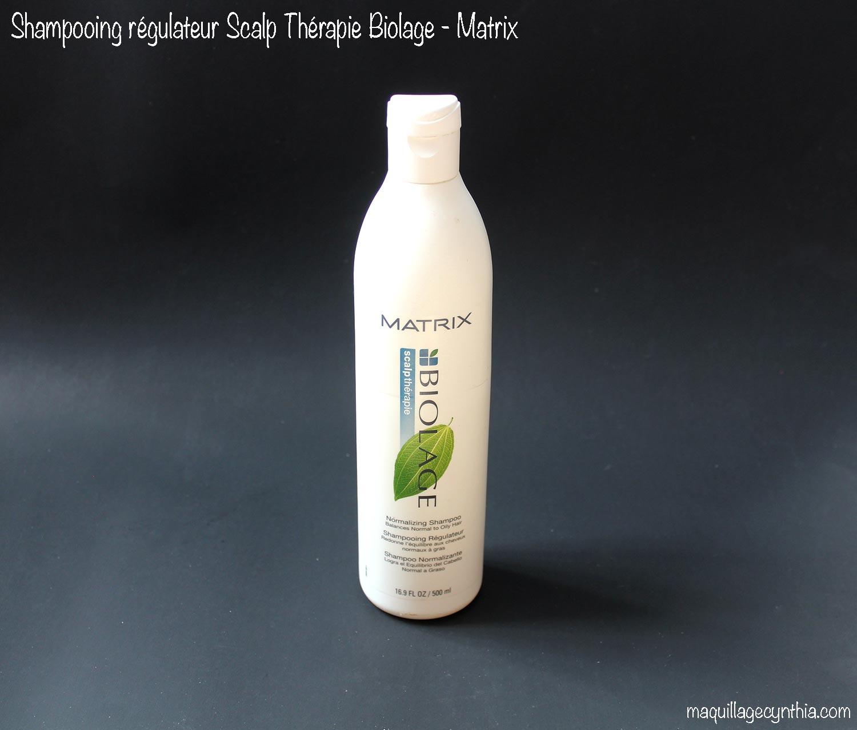 shampooing rgulateur cheveux normaux gras biolage de matrix - Quel Est Le Meilleur Shampoing Pour Cheveux Colors