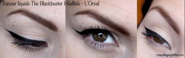 Swatch eyeliner L'Oréal