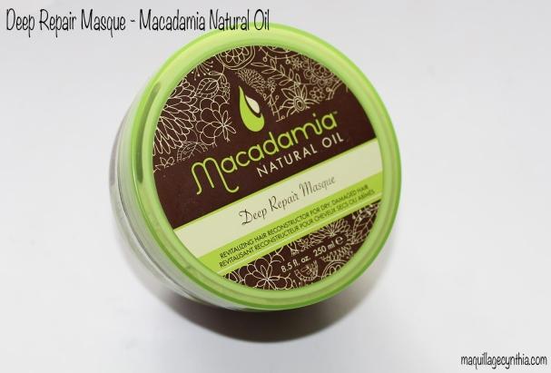 Deep Repair Masque de Macadamia Natural Oil