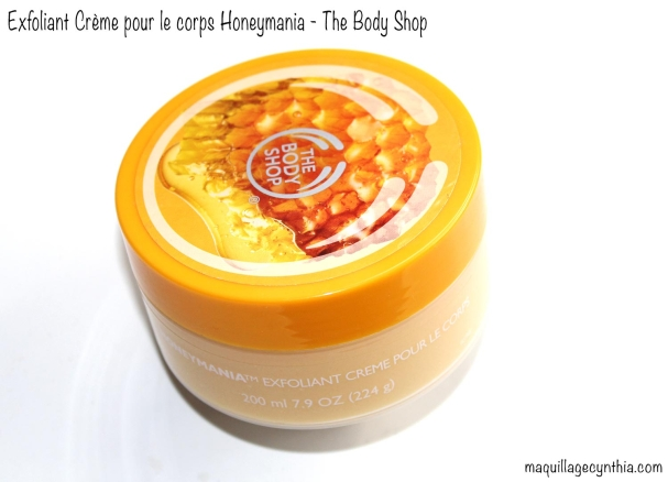 Exfoliant crème pour le corps Honeymania The Body Shop