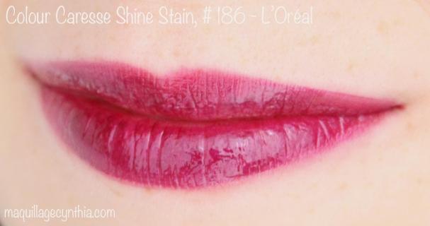 #186 Berry Persistent est un violet au sous-ton rose