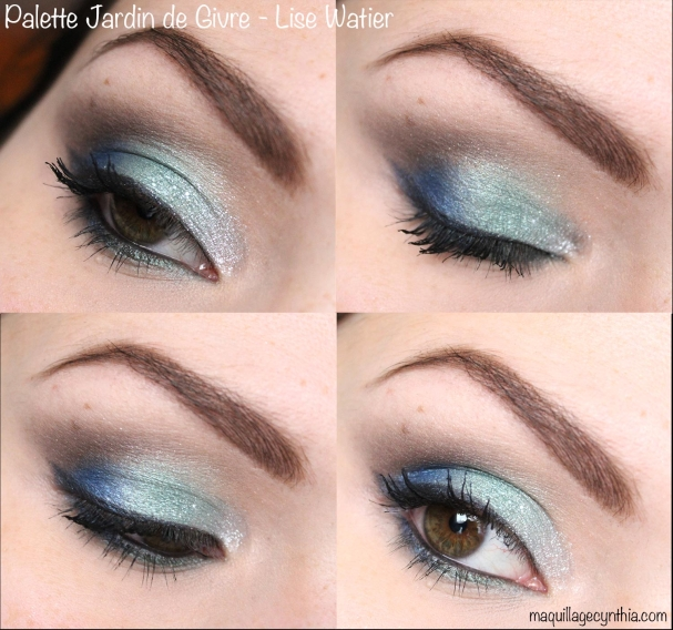 Palette jardin de givre fards paupi res et eyeliner - Meilleure palette maquillage ...