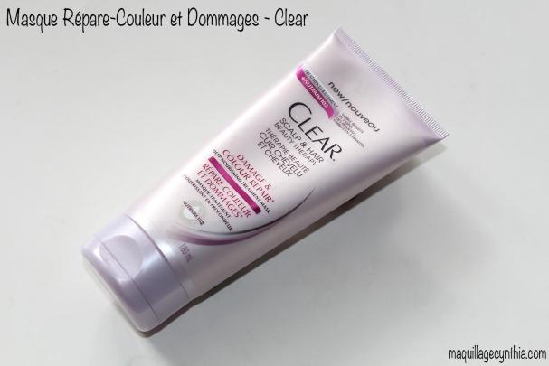 Masque-traitement Répare-Couleur et Dommages de Clear