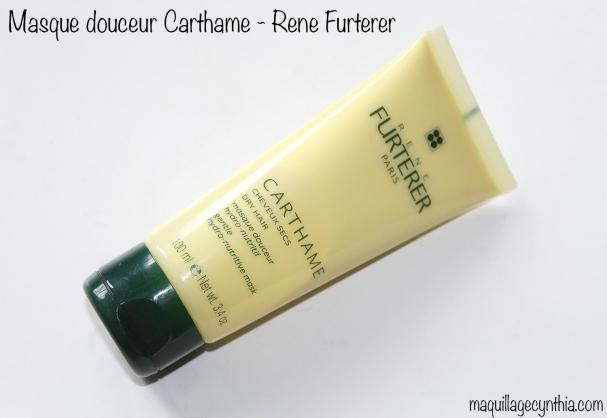 Masque Douceur Hydro-Nutritif Carthame de René Furterer