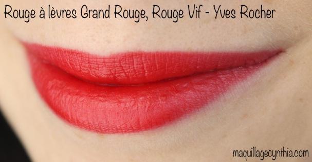 Rouges à lèvres Grand Rouge