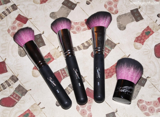 Midnight Lace Synthetic Brush Set de Sedona Lace