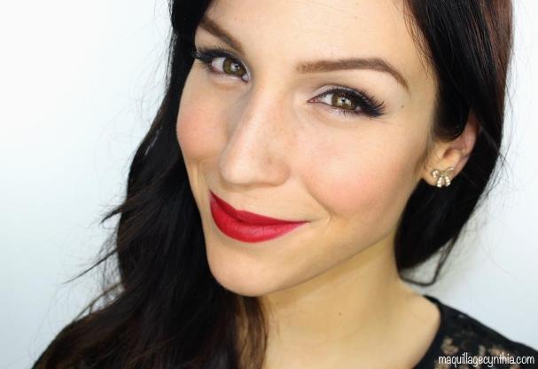 Maquillage pin up pour les fêtes