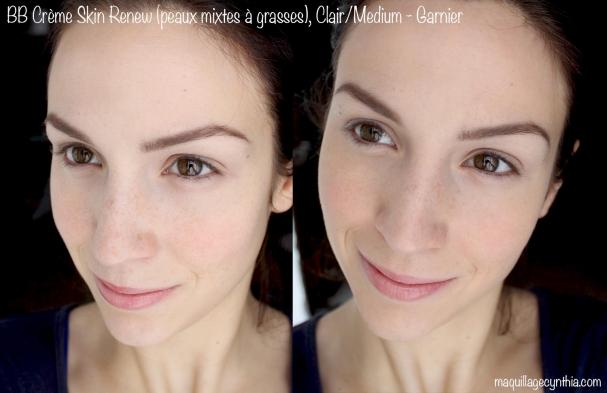 BB Crème Skin Renew (peaux mixtes-grasses) Garnier