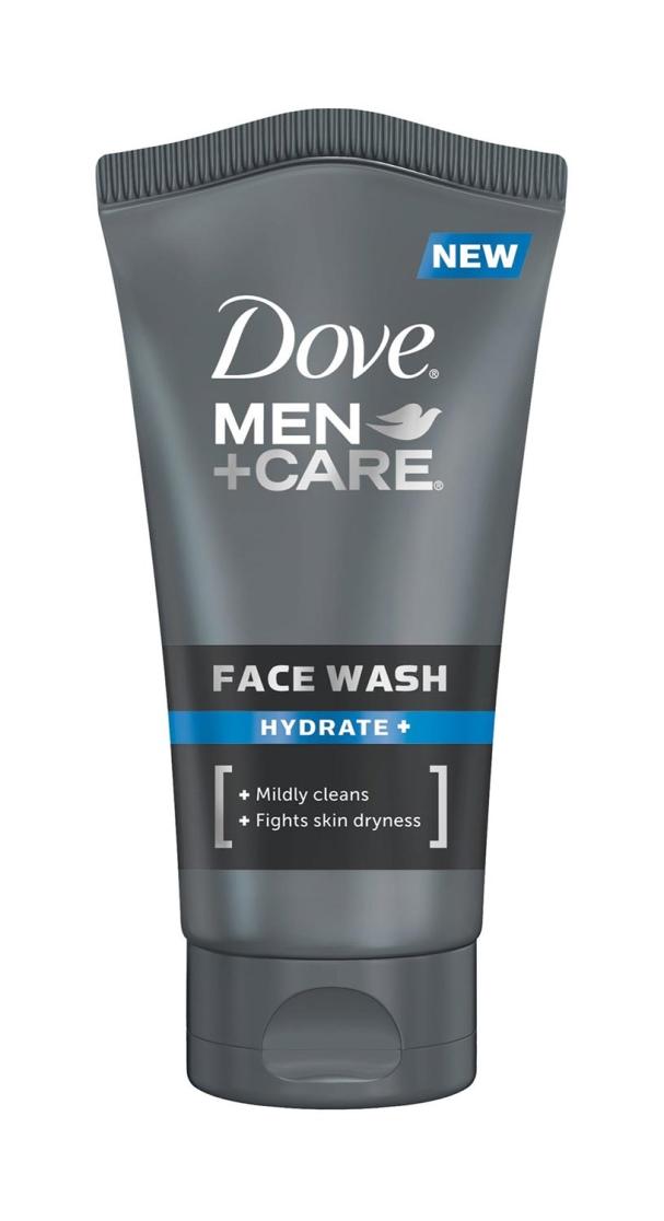 Nettoyant visage Hydrate + de Dove Men + Care