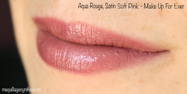 Aqua Rouge Satin Soft Pink