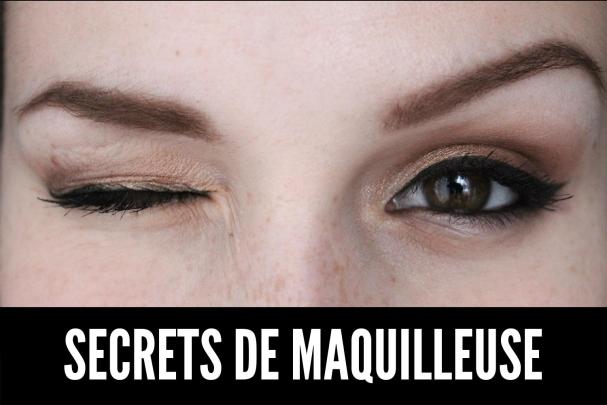 Secrets de maquilleuse maquillage longue-tenue des yeux