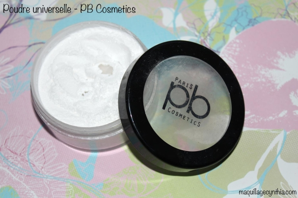 Poudre libre PB Cosmetics