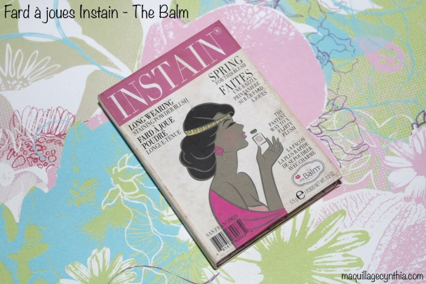 Instain blush The Balm