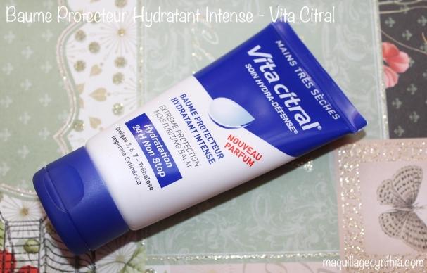 Baume Protecteur Hydratant Intense de Vita Citral