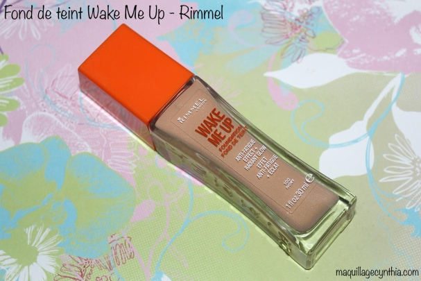 Wake me up Rimmel