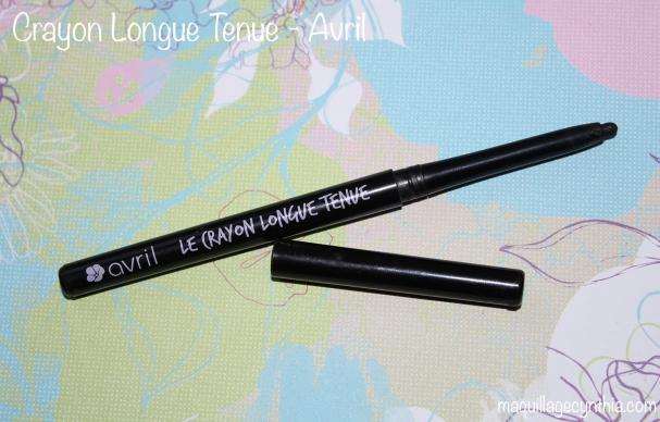 Crayon noir longue tenue Avril