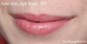 Butter Gloss NYX swatch