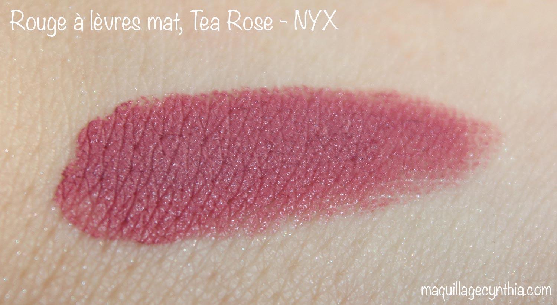 Très J'ai testé la marque NYX | Maquillage Cynthia QX33