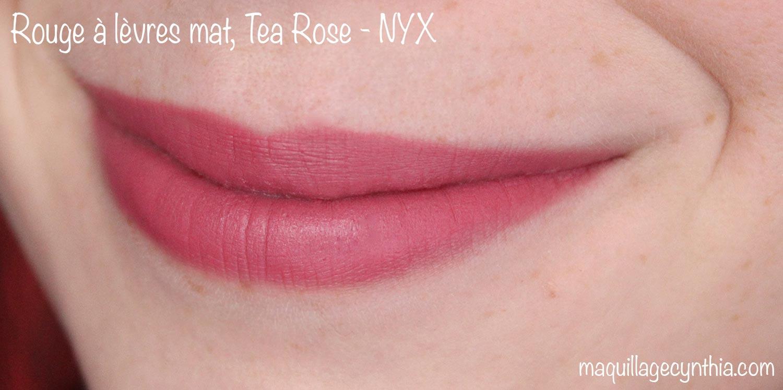 Exceptionnel J'ai testé la marque NYX | Maquillage Cynthia BP77