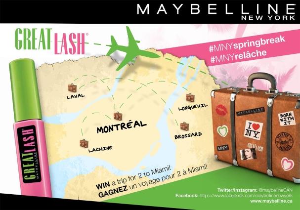 La chasse aux valises Maybelline est ouverte !