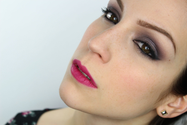 Maquillage de soirée Purple Glam