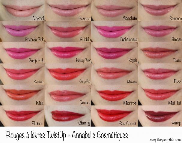 Twist-Up d'Annabelle