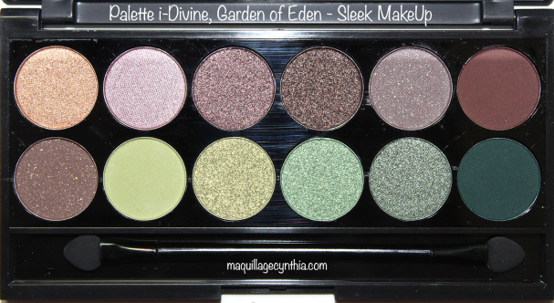 Palette i-Divine Garden of Eden