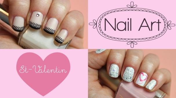 Nail-Art pour la Saint Valentin