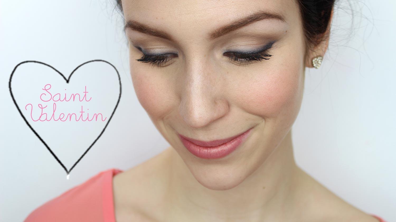tutoriel maquillage st valentin maquillage cynthia