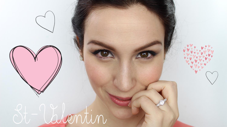 Tutoriel maquillage St-Valentin  Maquillage Cynthia