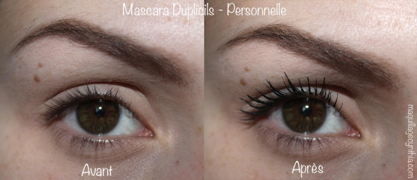 Mascara Duplicils Personnelle swatch