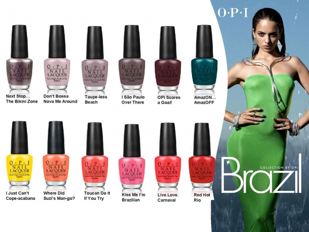 Collection Brazil par OPI