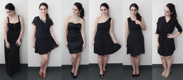 Une petite robe noire pour chaque silhouette