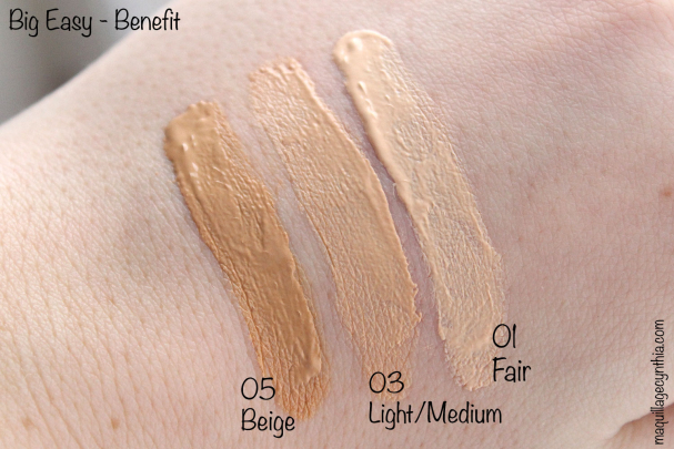 Big Easy Benefit swatch
