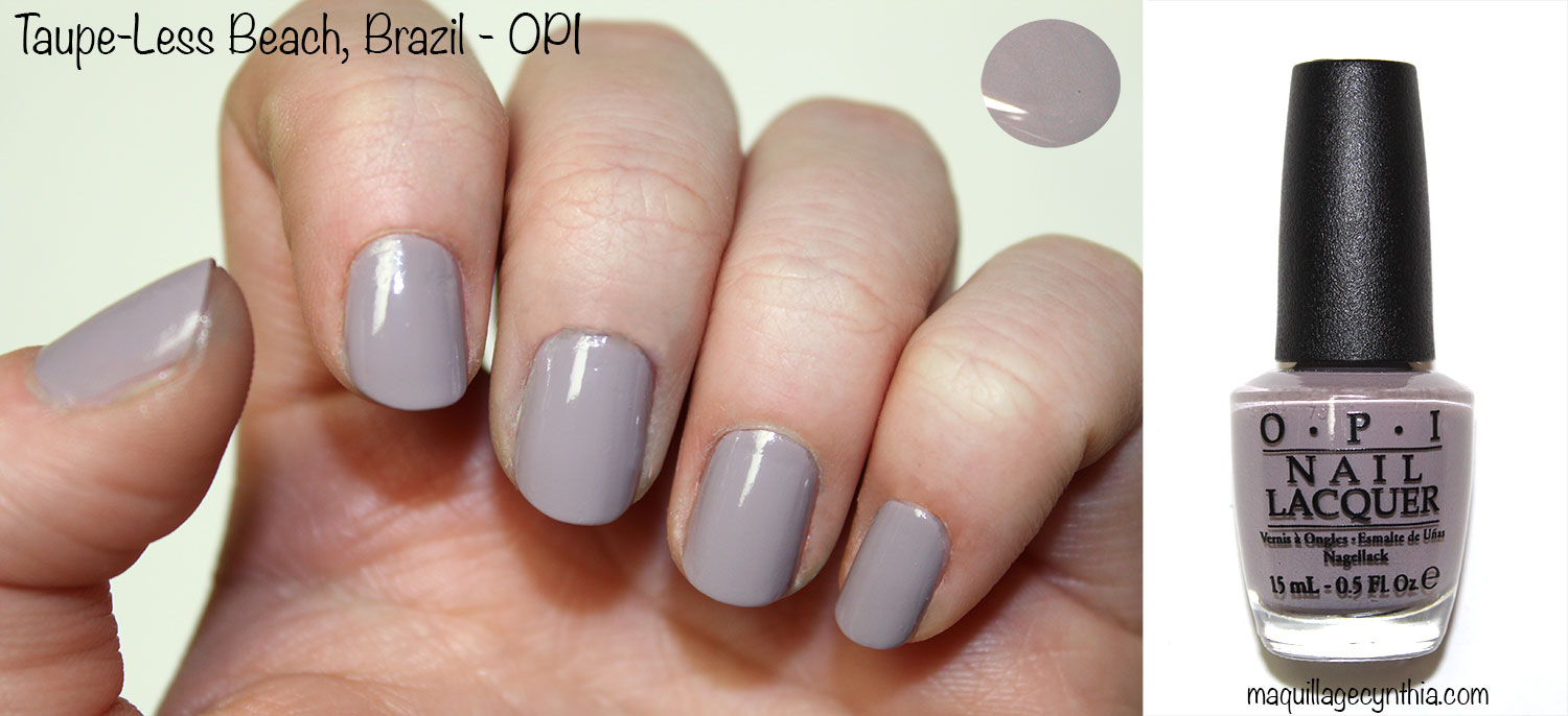 Exceptionnel Collection Brazil par OPI | Maquillage Cynthia KE01