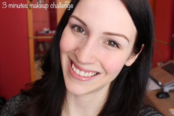 TAG #3 : 3 minutes makeup challenge