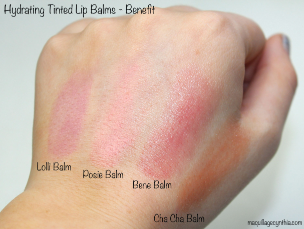 Hydrating Tinted Lip Balm Benefit
