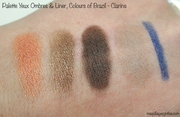 Palette Yeux Ombres & Liner Colours of Brazil