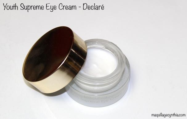 Youth Supreme Eye Cream - Crème contour des yeux longévité cellulaire