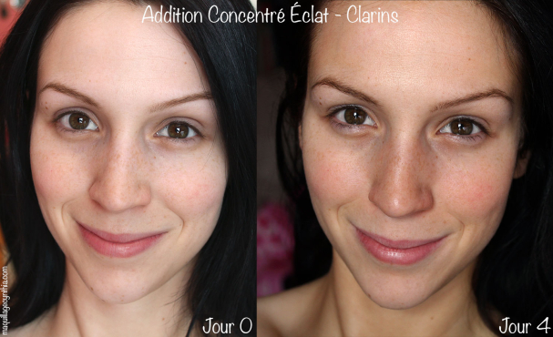 Addition Concentré Éclat de Clarins swatch