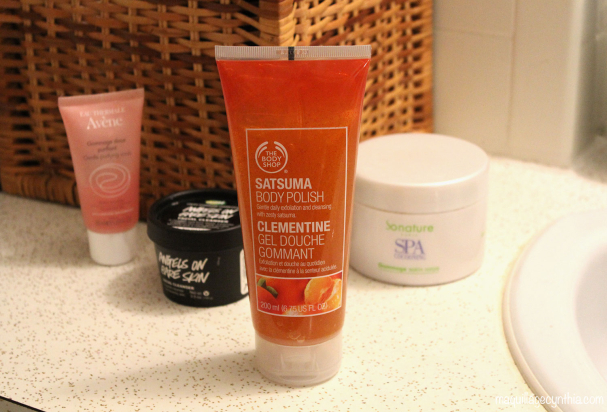 Gel douche gommant Clémentine de The Body Shop