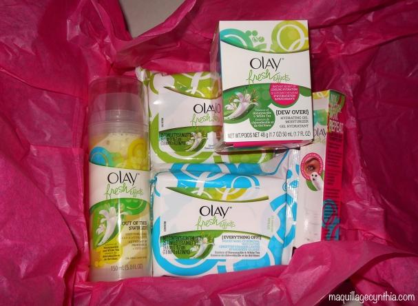Produits fresh effect Olay