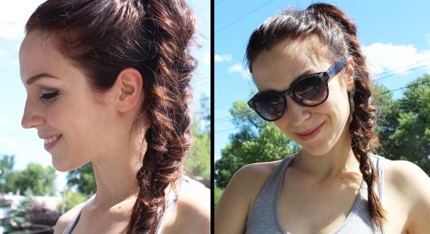 3 coiffures sans chaleur pour l'été