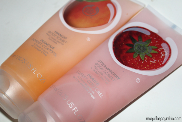 Sorbets corporels The Body Shop