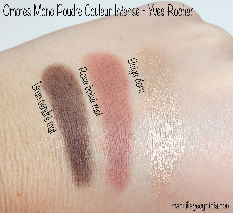 Bien-aimé J'ai testé la marque Yves Rocher | Maquillage Cynthia LF99