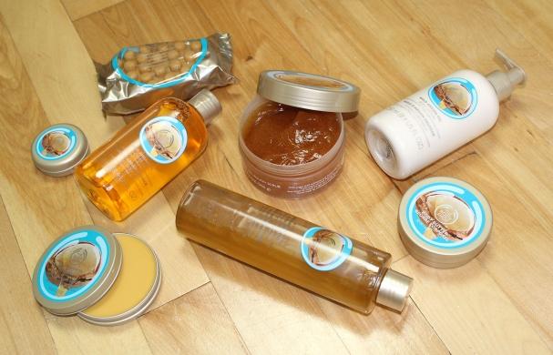 Gamme à l'huile d'argan sauvage du Maroc de The Body Shop