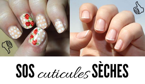 SOS cuticules sèches !